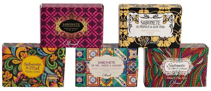 Conjunto Sabonetes Caixa
